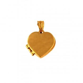 Auksinis pakabukas-medalionas