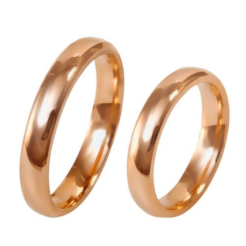 "Auksinis vestuvinis ""Klasikinis"" žiedas"