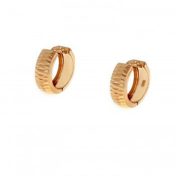 Auksiniai graviruoti auskarai