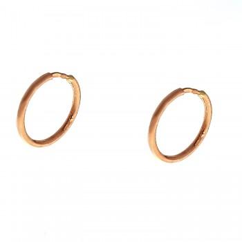 Auksiniai auskarai-lankeliai