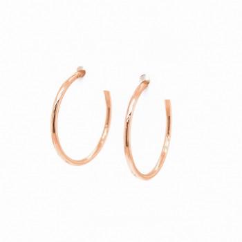 Auksiniai auskarai lankeliai 23 mm