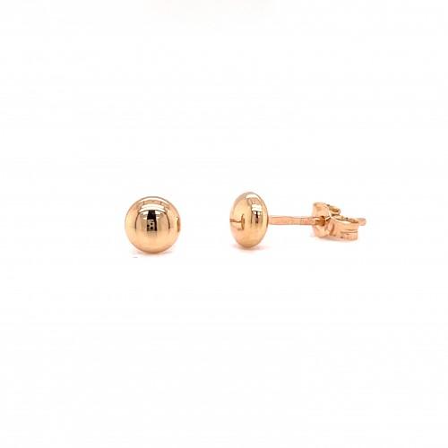 Auksiniai auskarai burbuliukai