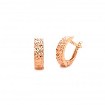 Graviruoti auksiniai auskarai