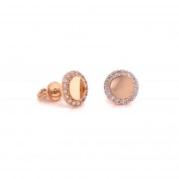 Auksiniai užsukami auskarai vinukai