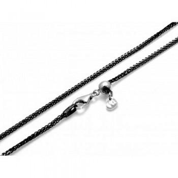 Reguliuojamo ilgio sidabrinė grandinėlė