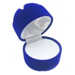 "Mėlyna Aksominė dėžutė ""Maišelis"""