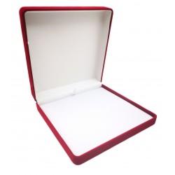 Bordo aksominė dėžutė