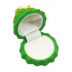 """Žalia aksominė dėžutė """"Eglutė"""""""