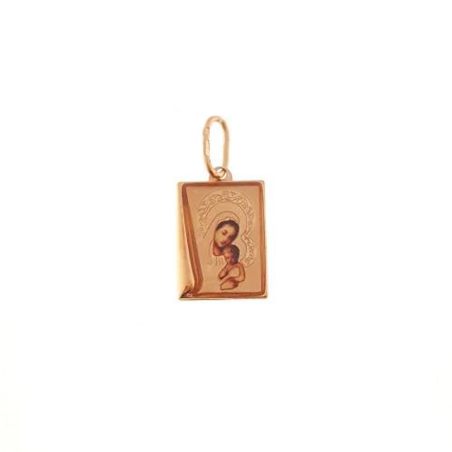 Auksinis pakabukas su šv. Marija