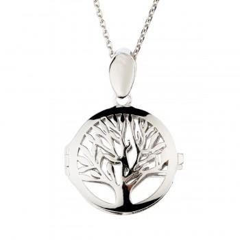 """Sidabrinis pakabukas medalionas """"Gyvybės/giminės medis"""""""