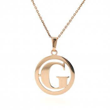 Auksinis pakabukas - raidė G