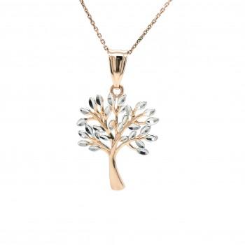 """Auksinis pakabukas """"Giminės ir Gyvybės medis"""""""