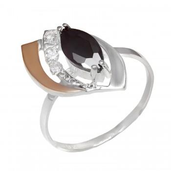 Sidabrinis žiedas su cirkoniu
