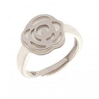 Sidabrinis žiedas su kriaukle
